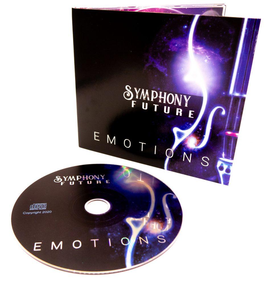 Symphony Future Emotions internal CD